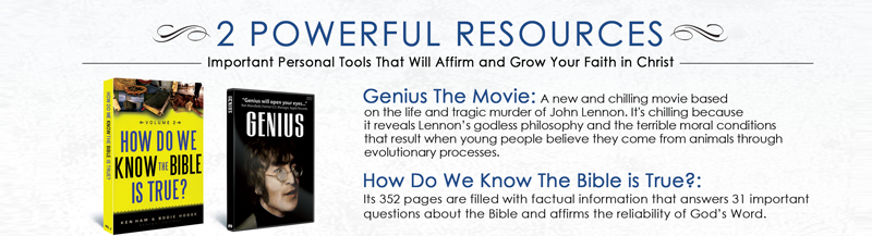 How do we know the Bible is True & Genius DVD