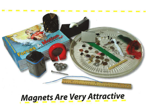 Energy: Magnets Are Very Attractive - Lesson 9