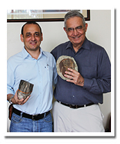 Dr. Edgar Palacio and Tom DeRosa