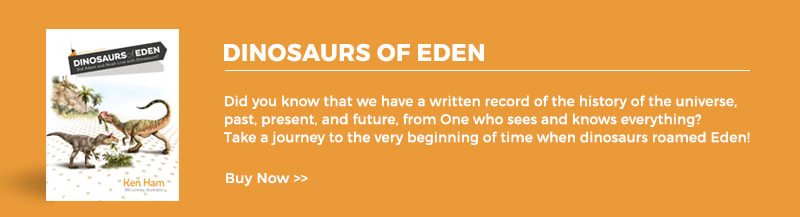 Dinosaurs of Eden Book