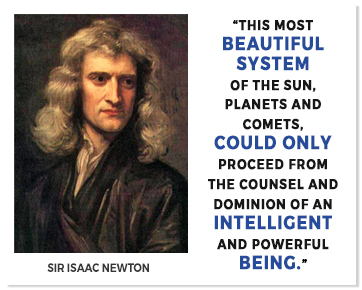 Sir Issac Newton Quote