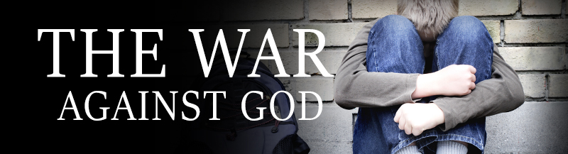 The War Against God Banner